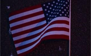Flag at Night II