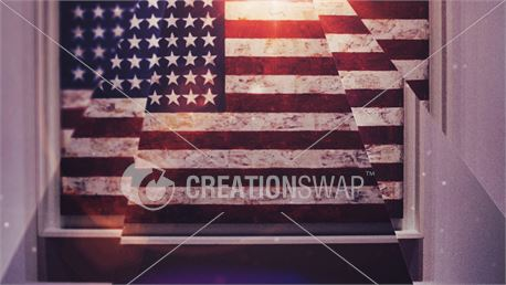 American flag (39090)