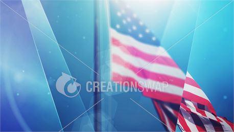 American flag (39099)