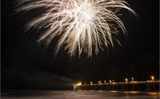 Pier Fireworks