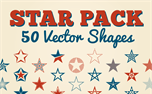Star Pack: 50 Vector Shapes (39469)