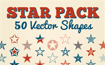 Star Pack: 50 Vector Shapes