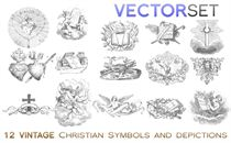 ChristianSymbols |VECTOR SET