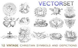 ChristianSymbols |VECTOR SET