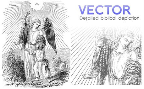 Biblical Art | Vector (4570)