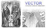 Biblical Art | Vector (4571)