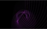 Form Purple Swirls Loop (40403)