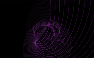 Form Purple Swirls Loop
