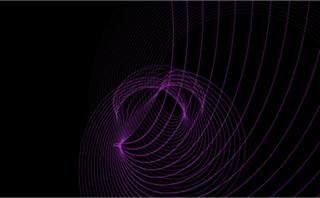 Form Purple Swirls Loop