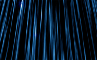 Streaking Vertical Pillar Blue