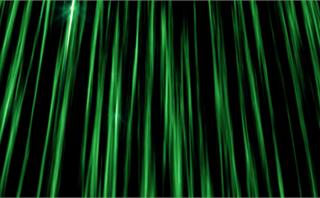 Streak Vertical Pillars Green