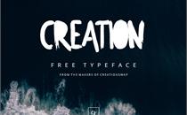 Creation Font