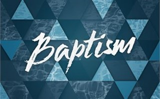 Baptism Water Triangles
