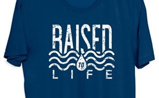 Baptism Shirt - Raised to Life