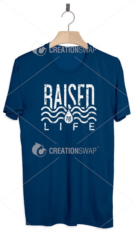 Baptism Shirt - Raised to Life (41263)