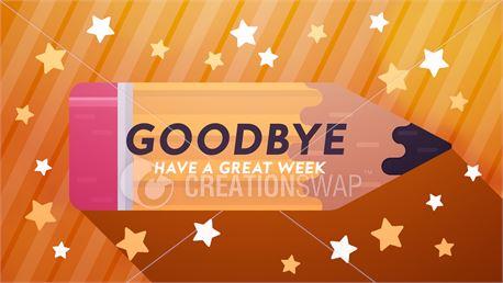 Back to School Goodbye (41357)