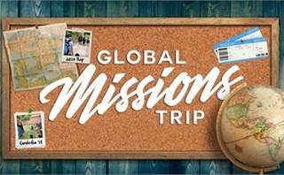 Missions Trip Wood Pinboard