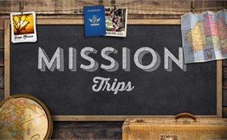 Chalkboard for Mission Trips