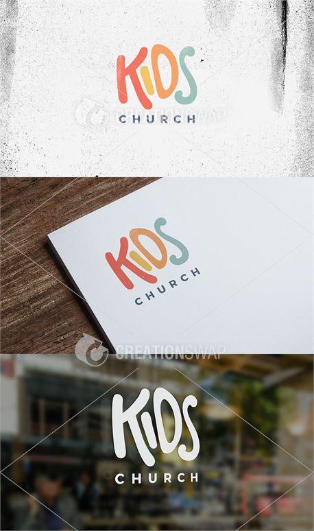 Kids Church Logo (41747)