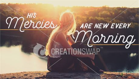 Mercies New Every Morning (42024)