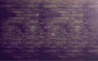 Rustic Wood Wall Loop