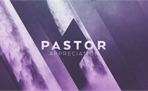 Pastor Appreciation Title