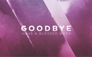 Pastor Appreciation Goodbye