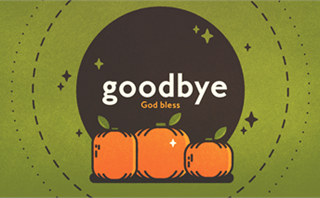 Autumn Harvest Goodbye