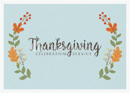 Thanksgiving Celebration (43568)