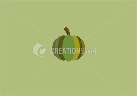 Green pumpkin (43907)