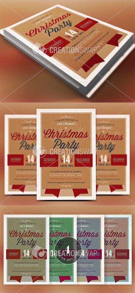 Christmas Party Invitation (44302)