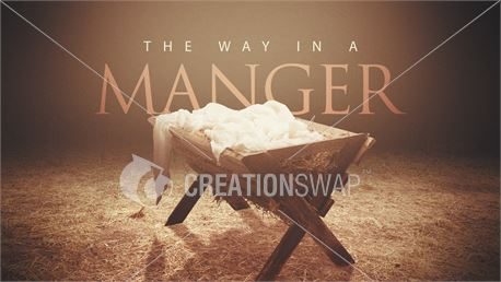 The Way In A Manger (44311)
