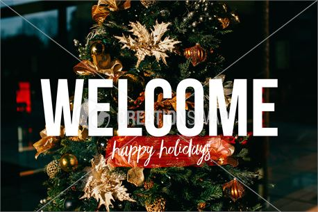 Trendy Holidays Welcome (44451)