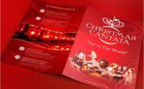 Red Christmas Cantata Program