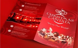 Red Christmas Cantata Program