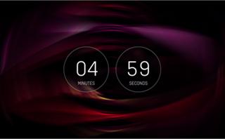 5 Min. Blurred Vis. Countdown