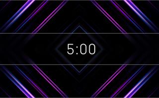 5 Minute Diamonds Countdown