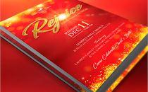 Rejoice Christmas Flyer