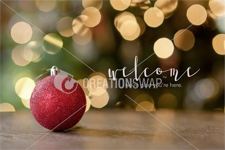 Red Ornament (45436)