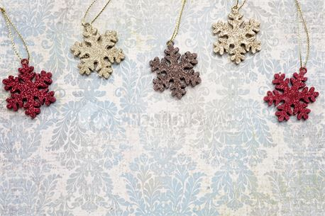 Colorful Snowflakes (45482)