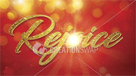 Rejoice Joy Christmas Slide (45489)