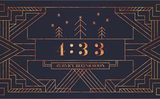 Art Deco Christmas Countdown