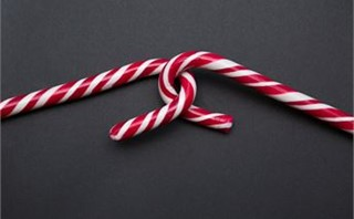 Two Sweet Candy Canes