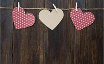 Three Paper Hearts
