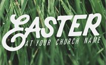 Easter 2017 Logo Hand Drawn
