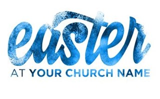 Easter 2017 Logo Blue