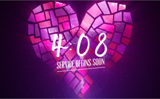 Valentines Window Countdown