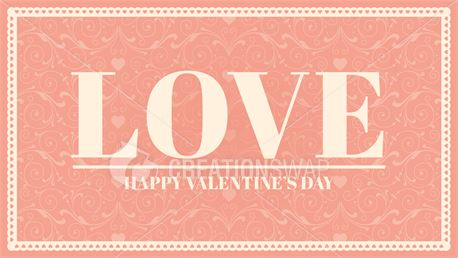 Valentine's Day Themed Slides (47601)