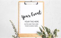 Editable Event PSD with Fonts