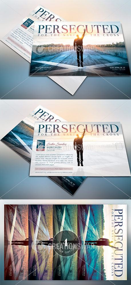 Persecuted Church Flyer  (47738)